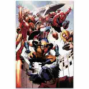 """Marvel Comics """"Annihilators: Earthfall #1"""" Numbered"""