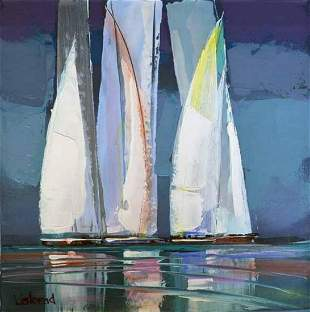"Listopad- Acrylic on Canvas ""Untitled"""