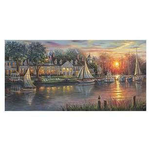 "Robert Finale, ""Chesapeake Sunrise"" Hand Signed, Artist"