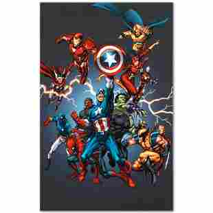 """Marvel Comics """"Official Handbook: Avengers 2005"""""""