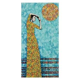 Marina Raiskin, Hand Embellished Limited Edition on