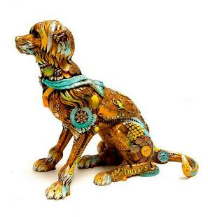 "Nano Lopez Bronze Sculpture ""Eighteen"""