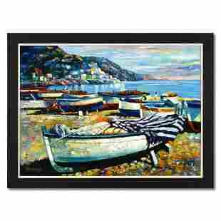 "Howard Behrens (1933-2014), ""Memories of Italy"" Framed"