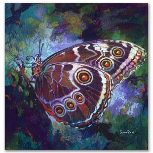 """""""Verdigris"""" Limited Edition Giclee on Canvas by Simon"""