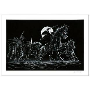 """""""Black Riders"""" Limited Edition Giclee by Greg"""