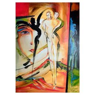 "Alfred Gockel, ""Strange Sense of We"" Hand Signed"