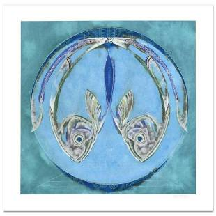 """Lu Hong, """"Pisces"""" Limited Edition Giclee, Numbered and"""