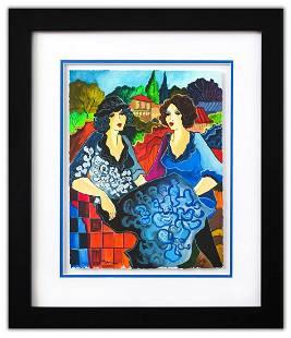 "Patricia Govezensky- Original Watercolor ""Fatima &"