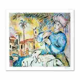 """""""Jaffa"""" Limited Edition Lithograph by Zamy Steynovitz"""