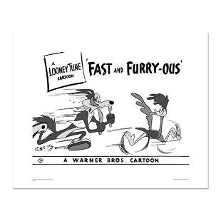 """""""Fast and Furry-ous"""" Numbered Limited Edition Giclee"""