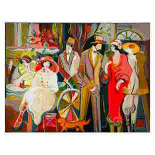"""Isaac Maimon, """"Charming Encounters"""" Limited Edition"""