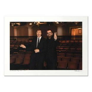 "Rob Shanahan, ""Paul McCartney & Ringo Starr"" Hand"