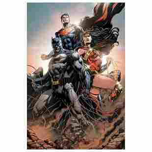 """DC Comics, """"Trinity #1"""" Numbered Limited Edition Giclee"""