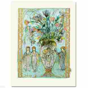 """""""Ancient Wisdom"""" Limited Edition Lithograph by Edna"""