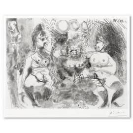 """Pablo Picasso (1881-1973), """"La Fete de la Patronne"""""""