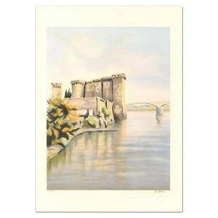 """Victor Zarou, """"Nimes"""" Limited Edition Lithograph,"""