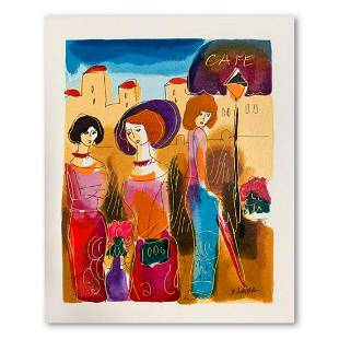 Moshe Leider, Hand Signed Limited Edition Serigraph on