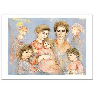 """""""Michael's Family"""" Limited Edition Lithograph (36"""" x"""