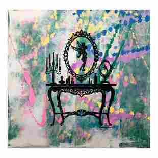 "Gail Rodgers, ""Mirror Mirror"" Hand Signed Original Hand"