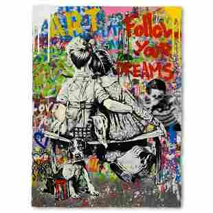 """Mr. Brainwash, """"Work Well Together"""" One-of-a-Kind Mixed"""