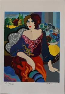 Patricia Govezensky- Original Serigraph on Paper