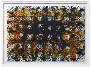 SAM FRANCIS (1923-1994)- Lithograph in colours on Rives