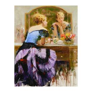 """Pino (1939-2010), """"By the Mirror"""" Limited Edition on"""