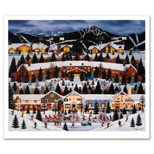 """Jane Wooster Scott, """"Alpine Winter Grandeur"""" Hand"""