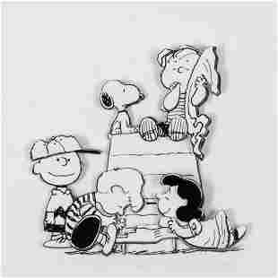 """Peanuts, """"Family"""" Hand Numbered Limited Edition 3D"""