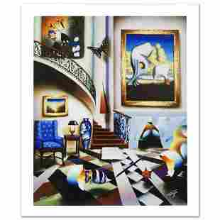 """""""Surrealist Stairway"""" Limited Edition Giclee on Canvas"""