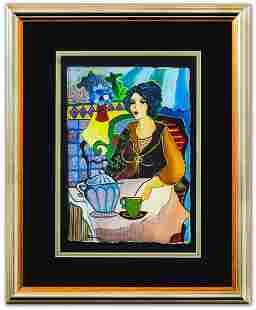 "Patricia Govezensky- Original Watercolor ""Riley"""