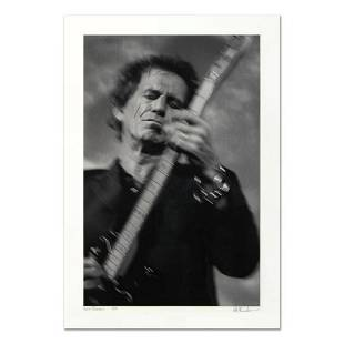 "Rob Shanahan, ""Keith Richards"" Hand Signed Limited"