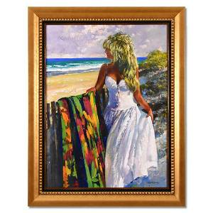 """Howard Behrens (1933-2014), """"My Beloved, Looking Out to"""