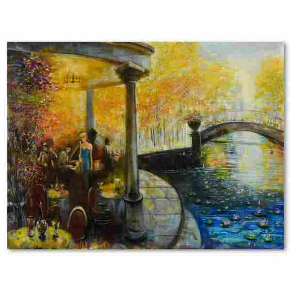 "Vadik Suljakov, ""Autumn Serenade"" Original Oil Painting"