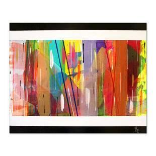 "George Marlowe, ""New Mexico"" Original Acrylic Painting"