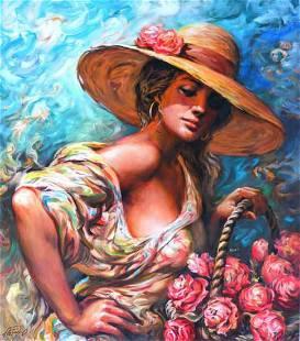"""Arkady- Giclee on Canvas """"Arkady LE-03"""""""