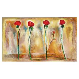 "Lenner Gogli, ""Rose Sands"" Limited Edition Serigraph,"