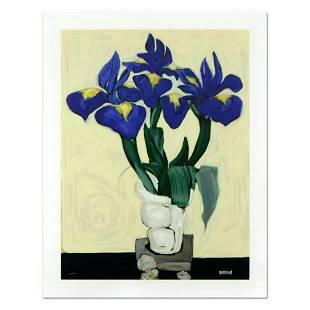 "Brenda Barnum, ""Irises"" Limited Edition Serigraph,"