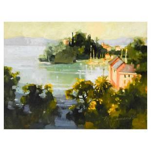 "Marilyn Simandle, ""Bellagio"" Limited Edition on Canvas,"