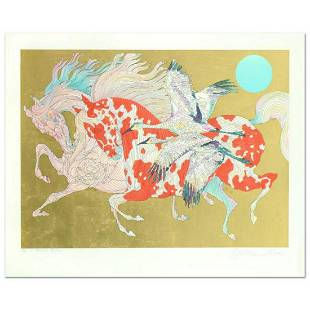 """Guillaume Azoulay- LEAF EDITION SERIGRAPH """"IT TAKES TWO"""