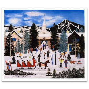 "Jane Wooster Scott, ""Embracing Winter's Joys"" Hand"