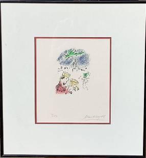 "Marc Chagall Lithograph ""DAVID (M.700)"""