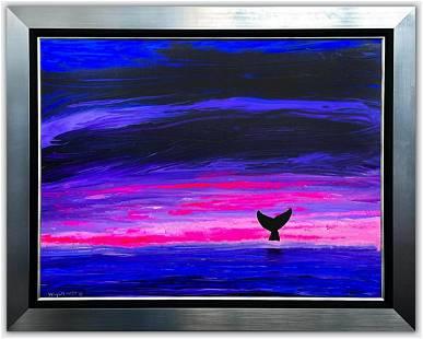 "Wyland- Original Painting on Canvas ""California Ocean"""