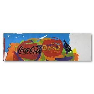 "Steve Kaufman (1960-2010) ""Coca-Cola Tops"" Hand Signed"