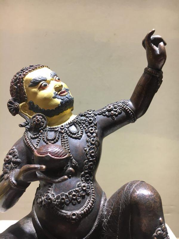 Chinese Ming Dynasty Gilt Buddha - 3