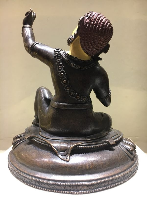 Chinese Ming Dynasty Gilt Buddha - 4