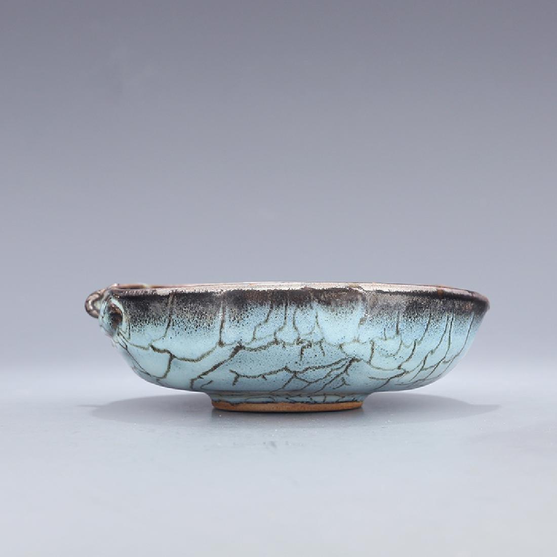 Chinese Jun kiln Porcelain Brush Washer - 3