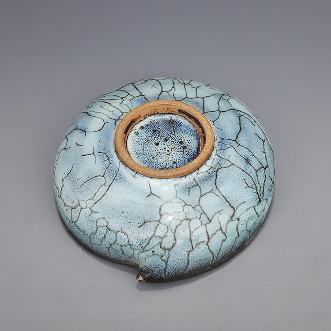 Chinese Jun kiln Porcelain Brush Washer - 6