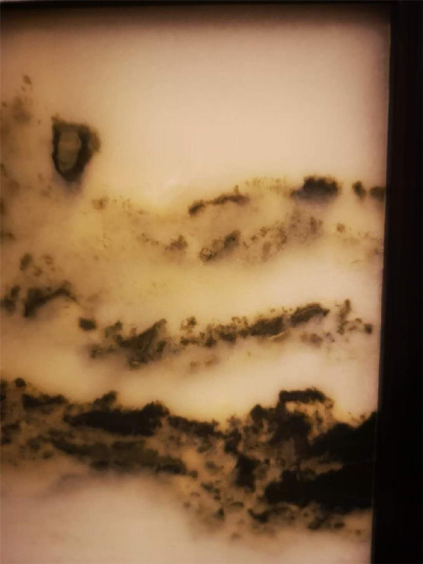 Chinese  Marble Table Screen - 10