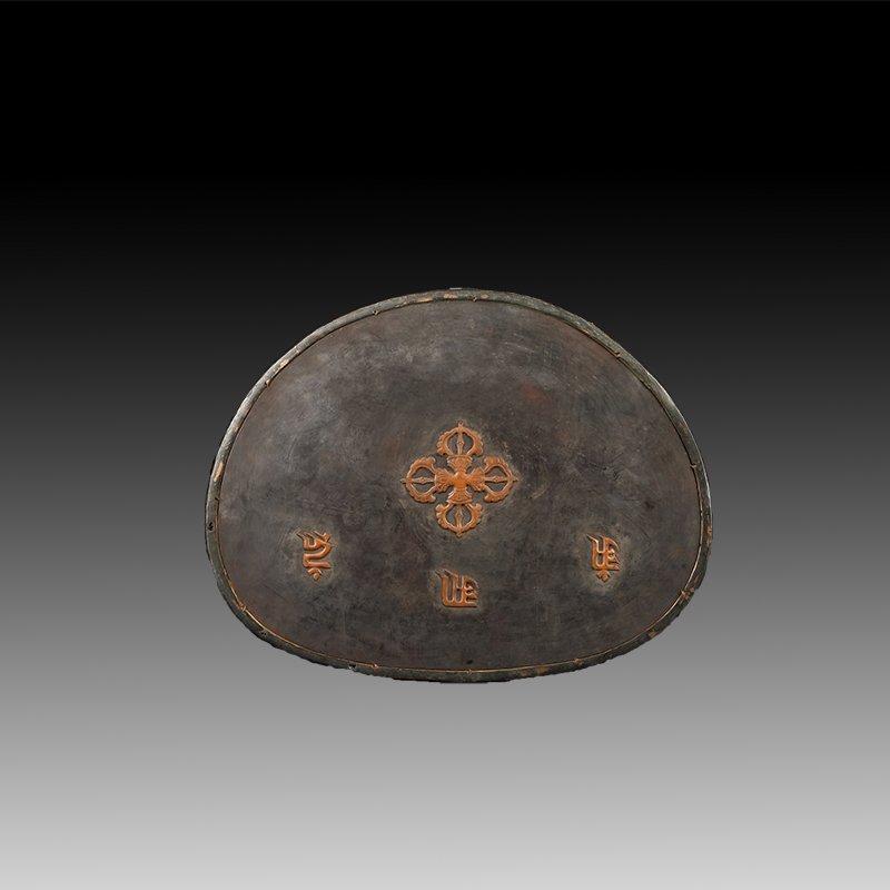 Chinese Gilt Bronze Manjushiri Buddha - 6